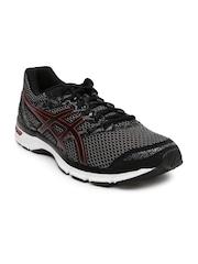 ASICS Men Black Gel-Exite 4 Running Shoes