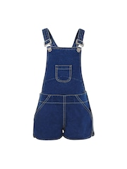 naughty ninos Girls Blue Denim Dungarees