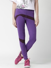 Adidas Stella McCartney Purple RUN ADZ Panelled Tights