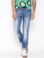 Allen Solly Men Blue Slim Fit Low-Rise Clean Look Jeans
