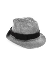 Mast & Harbour Women Grey Trilby Hat