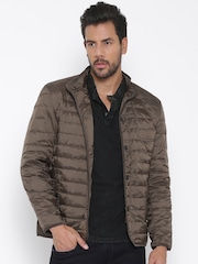 U.S. Polo Assn. Brown Quilted Jacket