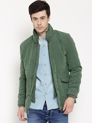 U.S. Polo Assn. Green Padded Quilted Jacket