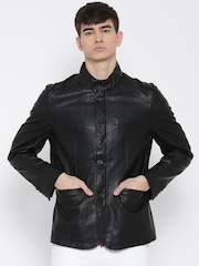 U.S. Polo Assn. Black Faux Leather Jacket