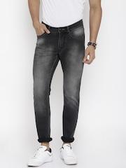 Flying Machine Men Black Jackson Skinny Fit Jeans