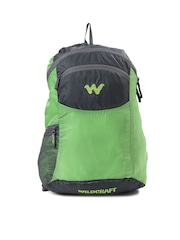 Wildcraft Men Green & Grey Foldable Backpack