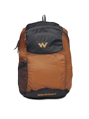Wildcraft Men Orange Foldable Backpack