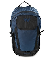 Wildcraft Men Navy & Black Annapurna Rucksack