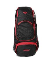 Wildcraft Unisex Black & Red Outrider Rucksack