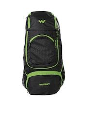 Wildcraft Unisex Black & Green Outrider Rucksack
