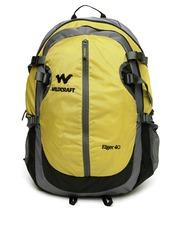 Wildcraft Men Yellow & Grey Eiger Rucksack