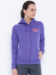 PUMA Purple Hooded Sweatshirt