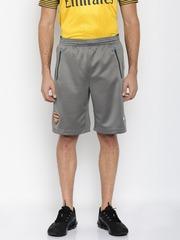 Puma Men Grey Solid Regular Fit DryCELL Sports Shorts