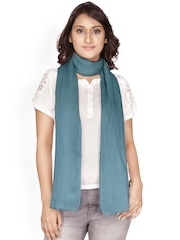 Anekaant Teal Green Stole