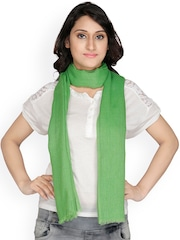 Anekaant Green Stole
