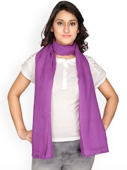 Anekaant Purple Stole
