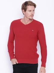 Status Quo Men Red Sweater