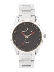 Daniel Klein Premium Men Gunmetal-Toned Dial Watch DK10905-4