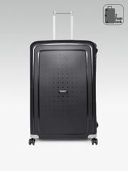 Samsonite Unisex Black Scure Spinner Large Trolley Suitcase