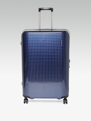 Samsonite Unisex Navy Medium Pixelon Spinner Trolley Suitcase