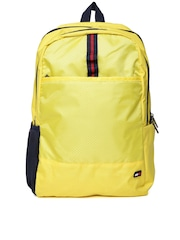 Tommy Hilfiger Unisex Yellow Patterned Backpack