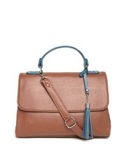 Mast & Harbour Brown Satchel with Sling Strap
