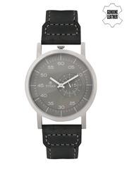 Titan Men Grey Analogue Watch 90026SL02J