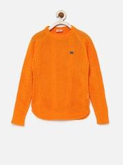 UFO Girls Orange Sweater