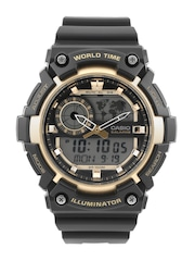 CASIO Youth Series Men Black Chronograph Digital Watch AD212