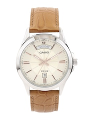 CASIO Edifice Men Cream-Coloured Dial Watch A1133