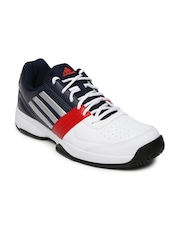 Adidas Men White Tennis Shoes