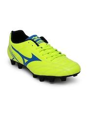Mizuno Men Fluorescent Green Monarcida Football Shoes