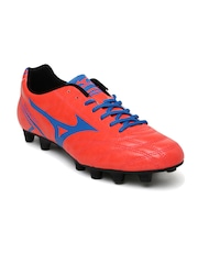 Mizuno Men Coral Red Monarcida Football Shoes