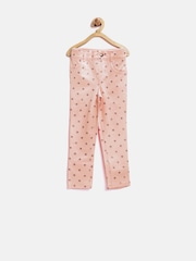 The Childrens Place Girls Pink Shimmer Star Print Jeggings