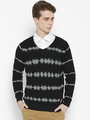 Monte Carlo Men Black Dyed Sweater