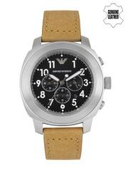 Emporio Armani Men Black Chronograph Watch AR6060I