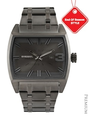 DIESEL Men Gunmetal-Toned Dial Watch DZ1706