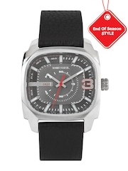 DIESEL Men Gunmetal-Toned Analogue Watch DZ1652I