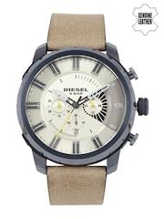 DIESEL Men Beige Chronograph Watch DZ4354I