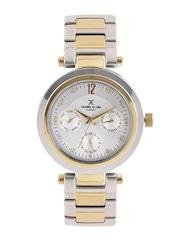 Daniel Klein Exclusive Women Silver-Toned Dial Watch DK10937-4