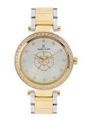 Daniel Klein Premium Women Silver-Toned Dial Watch DK11050-4