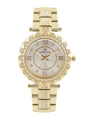 Daniel Klein Premium Women Gold-Toned Dial Watch DK11066-3