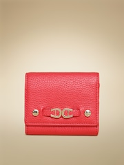 AIGNER Women Red Roma Neat Leather Wallet