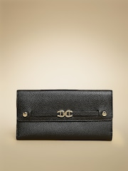 AIGNER Women Black Roma Neat Leather Wallet