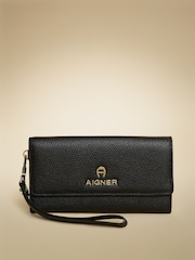AIGNER Women Black Lucy Neat Leather Wallet