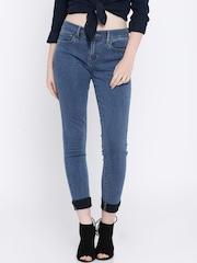 Levis Women Blue Super Skinny Fit Jeans