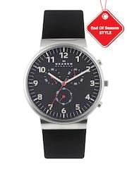 SKAGEN DENMARK Men Black Dial Watch SKW6100I