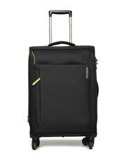 AMERICAN TOURISTER Unisex Black AppLite Medium Trolley Bag