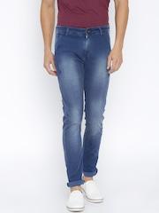 SPYKAR Men Blue Slim Fit Mid-Rise Clean Look Jeans