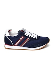 Superdry Women Navy Solid Regular Sneakers